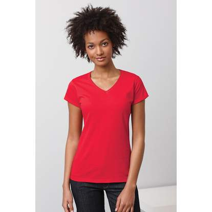 Ladies` Softstyle® V-Neck T-Shirt