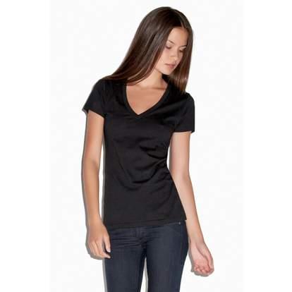 Jersey deep V-NECK t-shirtT-shirt col V profond